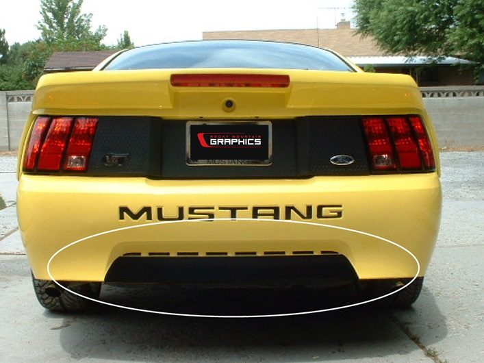 Dodge Ice Charger >> 1999-2004 Mustang Roush Style Bumper Insert - Rocky Mountain Graphics