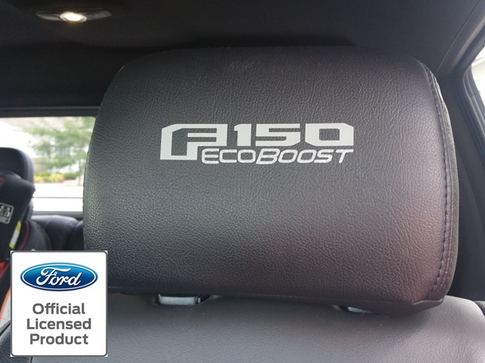 Mountain View Nissan >> F-150 Headrest decals with F-150 Ecoboost logo - Rocky Mountain Graphics
