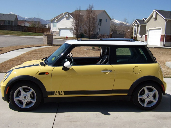 Mini Cooper Side Stripes Rocky Mountain Graphics