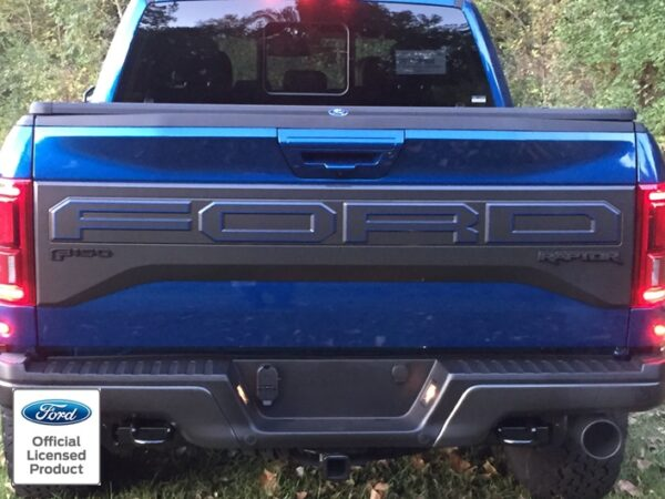 2017 Dodge Ram Colors >> 2017-2020 Ford Raptor Tailgate Letters Outlines - Rocky Mountain Graphics