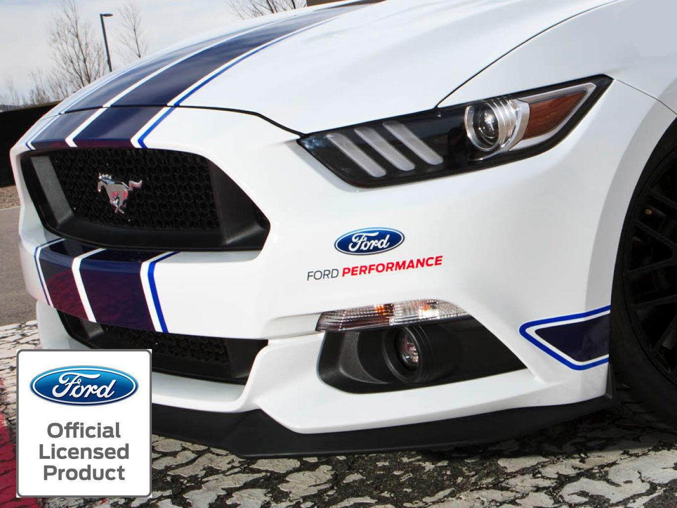 2015 2016 Ford Mustang New Ford Performance 8 In Vinyl Decal Sticker Graphics