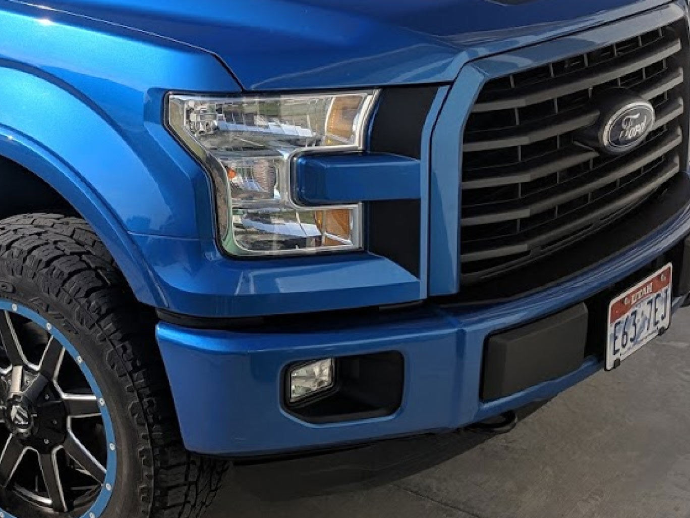 2015-2017 Ford F-150 Headlight Accent Decals Vinyl Stickers Graphics Boths Sides – 1