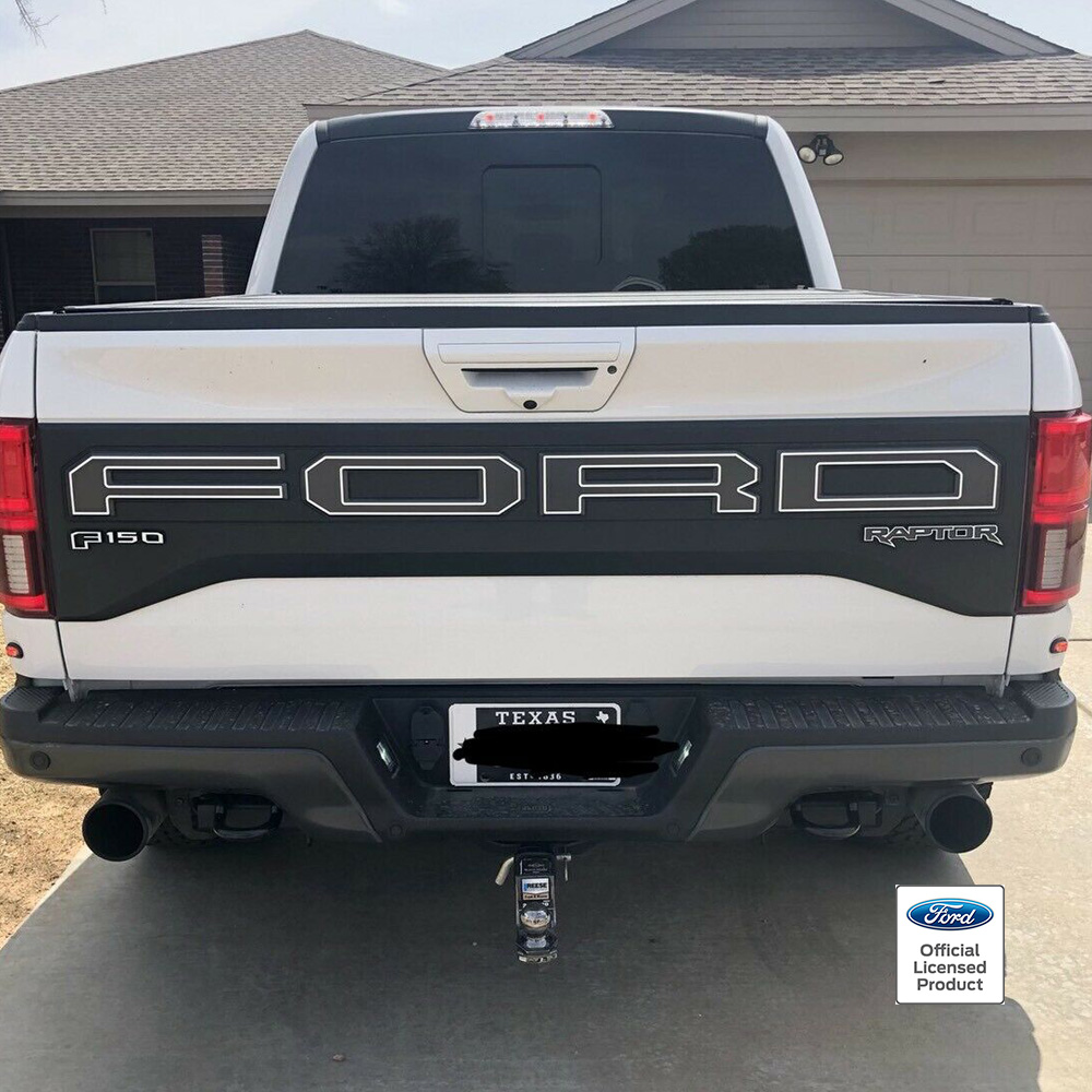 2019 raptor tailgate outlines – product image