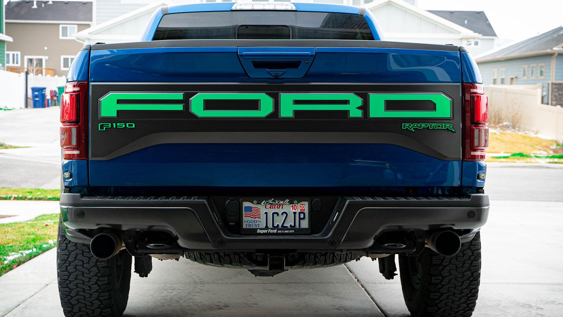 Ford® Raptor Gen 2 Decals